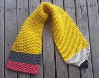 Knit Pencil Scarf
