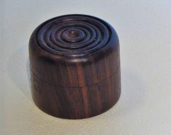 Rosewood earring box