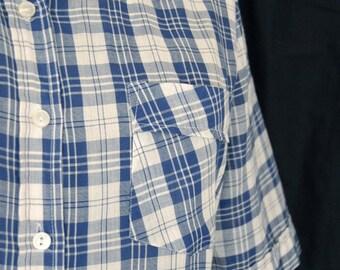 Blue Boy Check Shirt