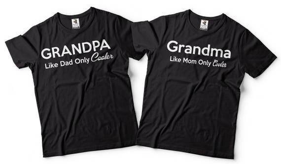 Nana and Grandpa Matching Birthday Shirts with Balloons YKTjuxL84