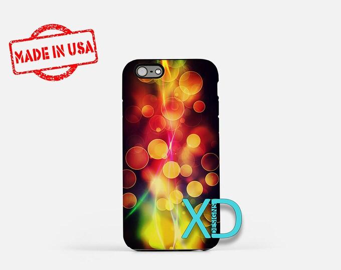 Rainbow Flame iPhone Case, Rainbow iPhone Case, Flame iPhone 8 Case, iPhone 6s Case, iPhone 7 Case, Phone Case, iPhone X Case, SE Case