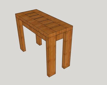 Mod End Table