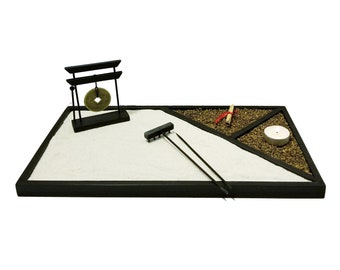 Zen Garden, jardin zen Home Decor, Office Decor, House Warming, meditation place,Handmade and good vibes