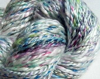 Speckle Silk-Handspun Mulberry Silk Yarn