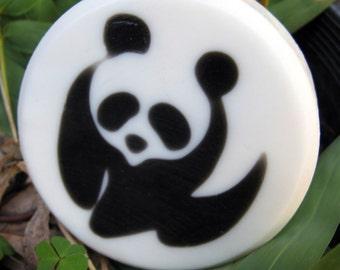PANDAMONIUM - PANDA Bear Soap - Cherry Blossom Scent - VEGAN