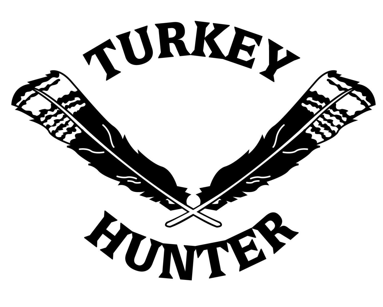 Turkey Hunting Vinyl Decal Turkey Hunter Sticker Turkey