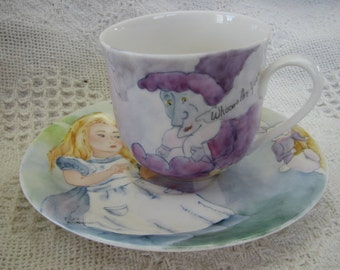 Alice cup and saucer