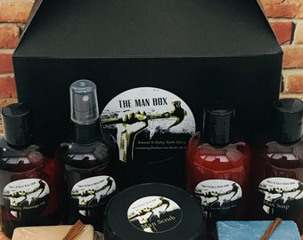 The Mega Manly Man Bath & Body Box