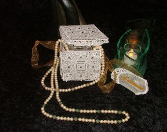 Beautiful Lace Gift Box