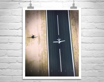 Pilot Gift, Aviation Art, Fine Art Photography, Airplane Art, Aerial Art, Aircraft Print, Aeronautical Art, Plane Photo, Aviation Decor