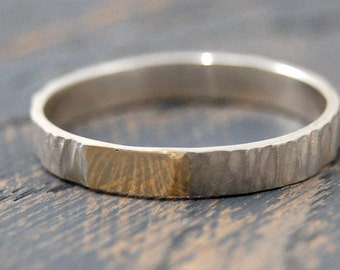 Rustic wedding 9k Gold ring for women, Tree Bark 9k Gold Ring, womens wedding 9k Gold ring, Womens wedding ring, wedding rings for women
