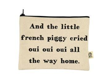 kleine französische Schweinchen Tasche