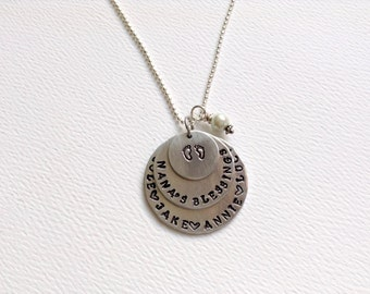 Nana Necklace/ Birthday Gift / Mother's Day Gift /New Grandma Necklace /Nana /Personalized /Mom Gift