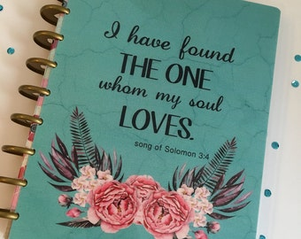 Planner Cover/ personal dashboard/ The One I Love