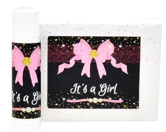30 Lip Balm Labels, Baby Shower Chapstick Labels, Chapstick Favor Stickers, Birthday Favor Labels