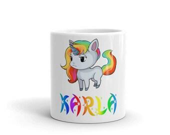 Karla Unicorn Mug