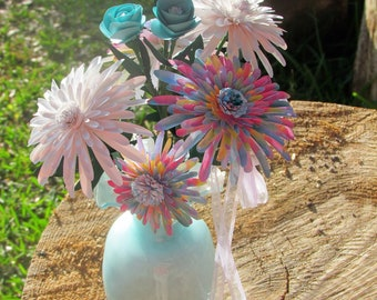 Chrysanthemum Paper Floral Arrangement