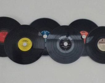 Vinyl Record Coat Rack
