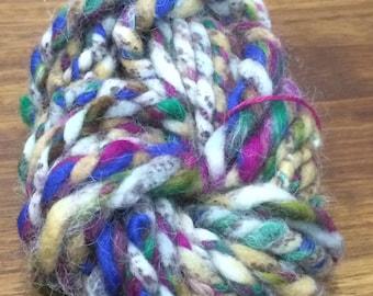 Mini Skein of Handspun Yarn
