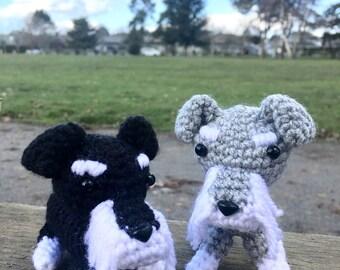 Crochet Mini Schnauzer