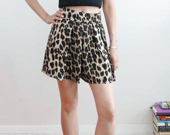 Zara Leopard Skort