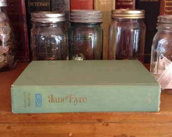 Jane Eyre by Charlotte Bronte, Vintage Hardcover, Classic Book,
