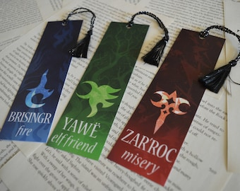 Inheritance Cycle Symbols Bookmarks - Ancient Language Bookmarks
