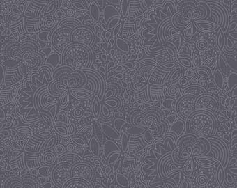 Seventy Six by Alison Glass for Andover Fabrics - A A-8450-K Stitched in Charcoal