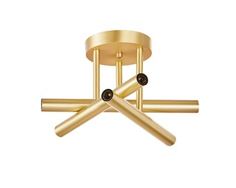 Triune Semi Flush