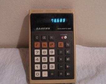 LLOYD'S AUTOMATIC 320 vintage calculator