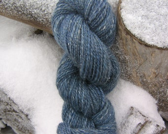 Handspun Yarn, Wool, cashmere, silk, firestar , 'Shining Water'