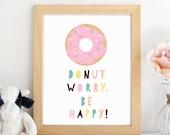 PRINTABLE.Donut Print.Nur...