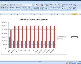 Budget Spreadsheet, Personal Expense Spreadsheet Template