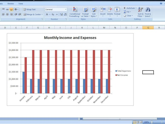 Budget Spreadsheet Personal Expense Spreadsheet Template