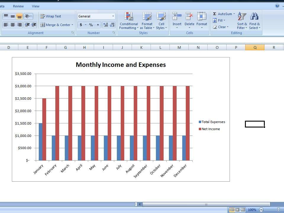 Budget-Tabelle persönliche Ausgaben Tabelle Vorlage