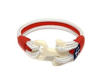 City of London Nautical Bracelet  | Beach Bracelet | bracelet nautique | pulsera hombre | Schäkel Armband