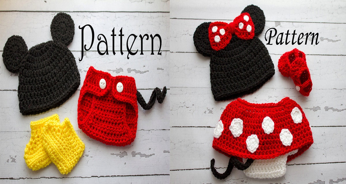 Enchanting Crochet Mickey Mouse Pattern Pattern Blanket Knitting