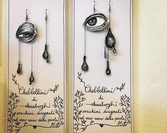 CHEBBELLINI orecchini disegnati (nel vero senso della parola)