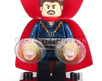 Custom Doctor Strange Minifigure Marvel Comics Fits Lego UK Seller