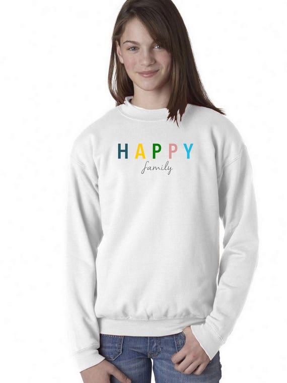 Boy Girl baby sweater HAPPY FAMILY
