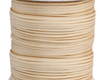 10 Meters Nylon Knotting Cord - Ivory 2mm (100229)