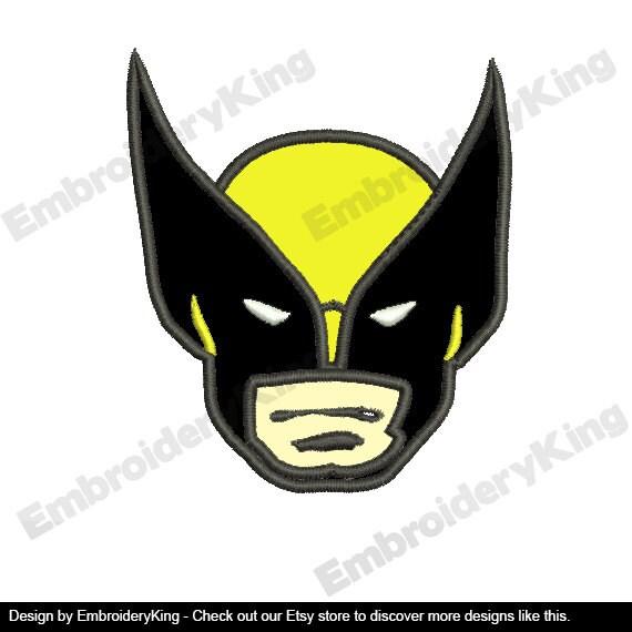 Wolverine Machine Embroidery Design