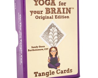 Tangle Cards - Yoga for Your Brain Edition