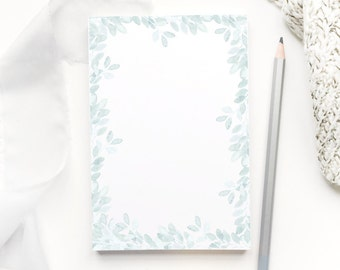 Notepad, Stocking Stuffer, Gifts for Her, Gift for Women, Gifts for Mom, Gift for Sister, Watercolor, To Do List Notepad, Stationery Notepad