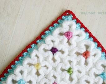 Crochet Pattern, Crazy-Good Mat, Blanket, Rug