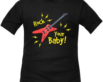 Kids t-shirt ROCK: rock your baby