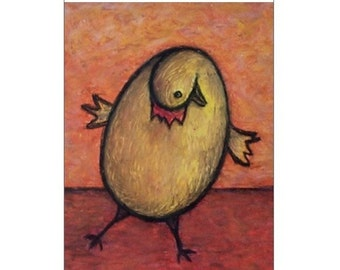 Chicken Egg Greeting Card