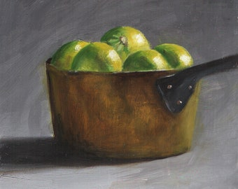 Pan with Limes