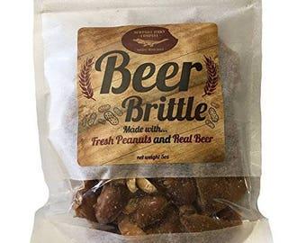 Award Winning Gourmet IPA Beer Peanut Brittle