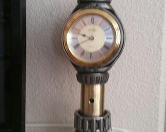 upcycled Cat parts clock